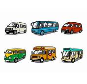 Free Minibus Vector  Download Art Stock