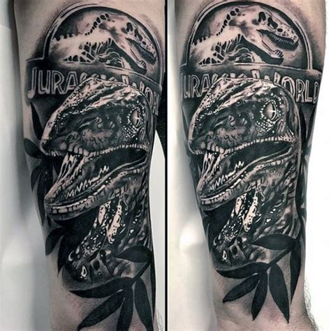jurassic park tattoo designs 50 jurassic park designs for dinosaur ink ideas