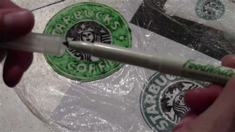 starbucks coffee logo   fondant youtube