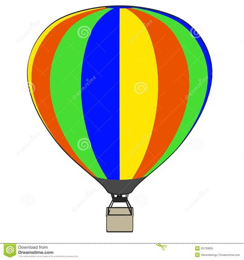 image of air balloon stock illustration image of draw