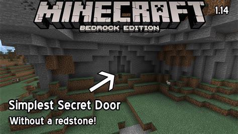 secret door   redstone  minecraft