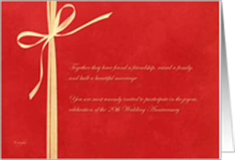 20th wedding anniversary invitation card 20th anniversary invitations from greeting card universe