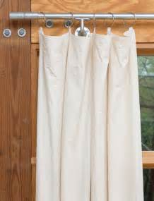 Canvas Patio Curtains Diy Window Curtains From Canvas Or Dropcloth Diy Network Made Remade Diy
