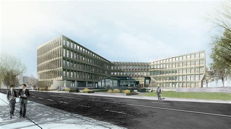 Different Floor Plans shanghai hongqiao cbd office headquarters building lycs