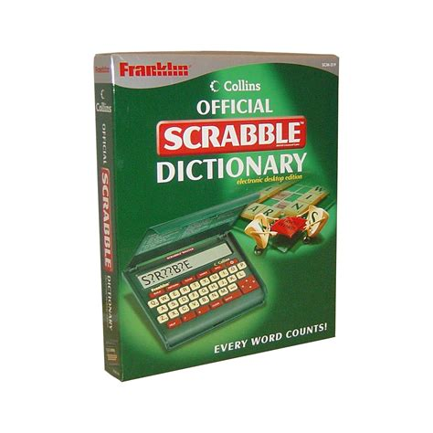 Scrabble Dictionary Scrabble Dictionary Brights Leather