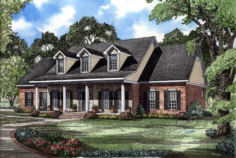 colonial country southern house plan colonial country southern house plan 62072