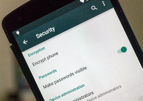 android encryption خطوات سريعة لحماية بياناتك على منصة الأندوريد وios التقنية بلا حدود