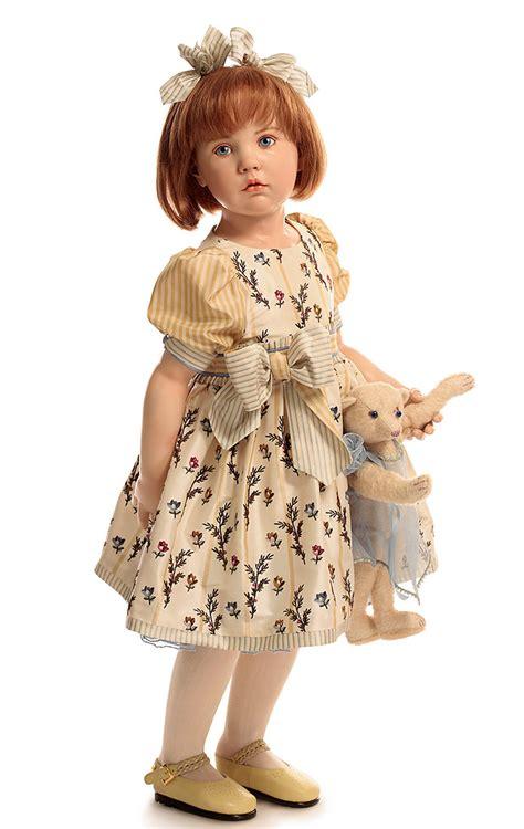 porcelain doll artists porcelain gunzel doll