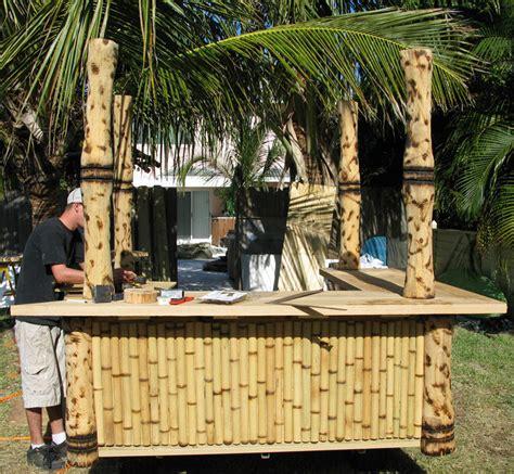 Portable Tiki Hut portable tiki hut february 2011