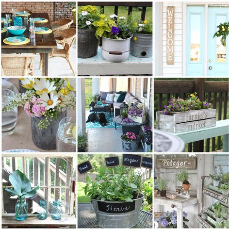Diy Garden Decor Ideas 12 Gorgeous Country Farmhouse Outdoor D 233 Cor Ideas The Diy