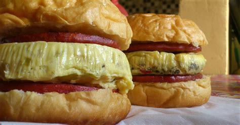 Daging Burger Sapi Burger Uk8cm Patty Burger resep burger big egg oleh dina a n cookpad
