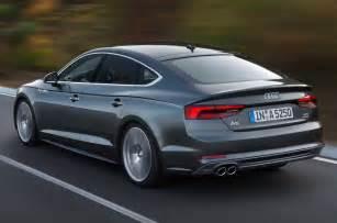 Audi A5 Sport 2017 Audi A5 Sportback Revealed What Car