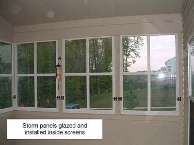 removable windows for screened porch the wood window surgeon screen porches can turn your