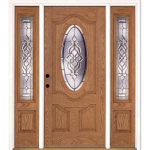 84 Lumber Interior Doors by Feather River Doors 67 5 In X81 625 In Lakewood Brass 3 4