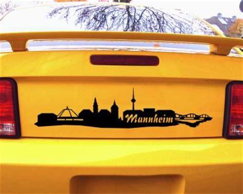 Sticker Drucken Mannheim by Autoaufkleber Mannheim Aufkleber Skyline 25 Farben 9