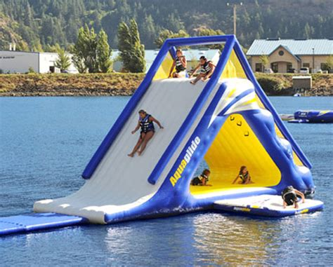 lake toys for adults aquaglide summit express 16 gigantic inflatable water