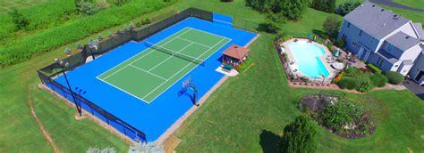 backyard tennis tennis court in backyard outdoor goods