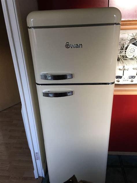 retro style fridge freezers uk swan retro fridge freezer in gilmerton edinburgh gumtree