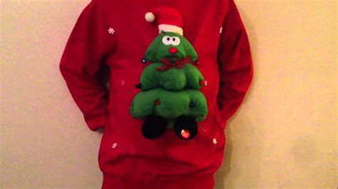 Barn Dancing Christmas Jumper Musical Rockin Robin Tree Youtube
