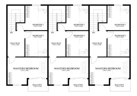 town houses plans two storey house designs modern plans mexzhouse single story bungalow best free