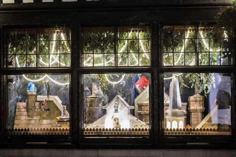 christmas window stores festive feels the best window displays 2017 house of coco