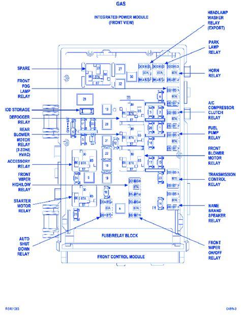 electrical wiring diagram 2005 dodge caravan wiring