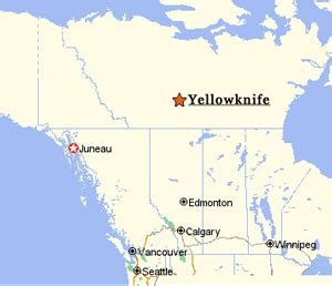 Yellowknife Canada Map by Yellowknife Canada Map Submited Images