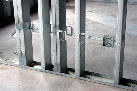 metal stud framing light metal stud framing okumuş inşaat