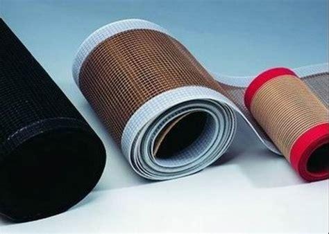 high temperature resistant open fiberglass ptfe mesh edge