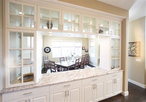 Two Sided Kitchen Cabinets by Built In Buffet Cabinets Image Cabinets And Shower