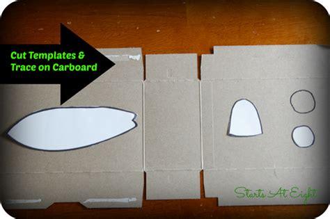 cardboard boat shapes dav vinci