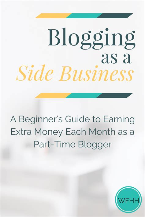 blogger earn money blogging as a side business a money making guide for part