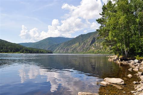 Landscape Photography Rivers Summer Landscape With River Free Stock Photo