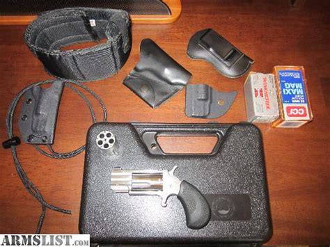 naa pug ankle holster armslist for sale naa american arms pug 22 mag and 22 lr mini revolver