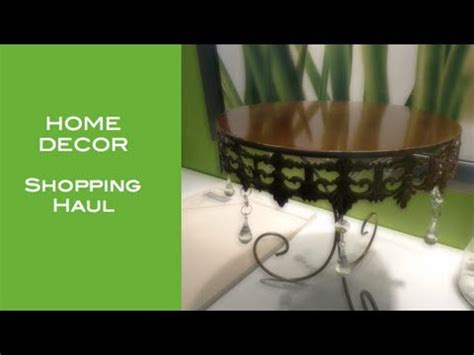 home decor retail home decor shopping haul youtube