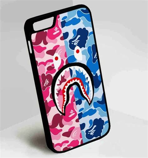 Iphone 5c Bape Shark Camo Pattern Hardcas bape camo and shark iphone 4 4s 5 5s 5c 6 6plus 7