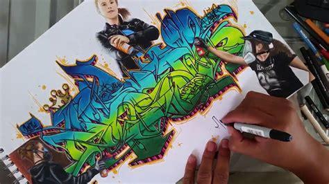 graffiti wild style tutorial graffiti step  step