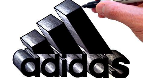draw  adidas logo     youtube youtube