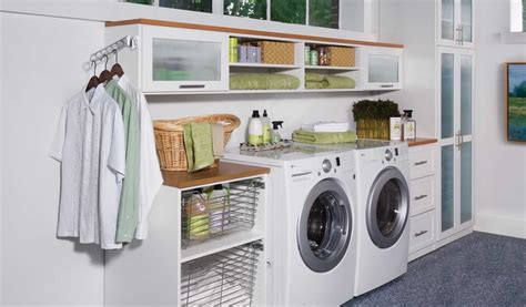custom laundry room custom laundry rooms well designed accommodations countertops pull out organizers