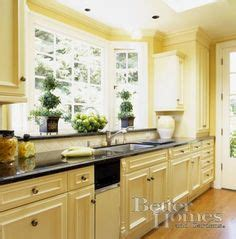 butter yellow kitchen cabinets 1000 images about kitchen paint wallpaper ideas on