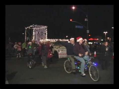 christmas in redlands ca redlands ca parade dec 4 2010 part 4 santa holidays marching band float