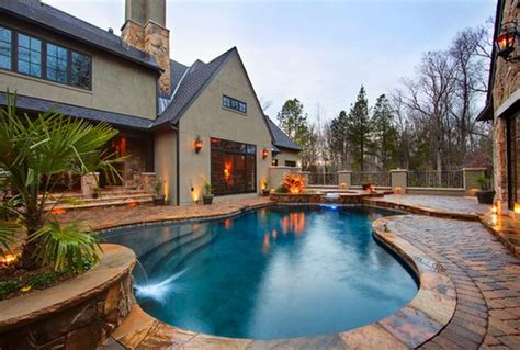 Backyard Pool Design Ideas Spruce Up Your Small Backyard With A Swimming Pool 19 Design Ideas