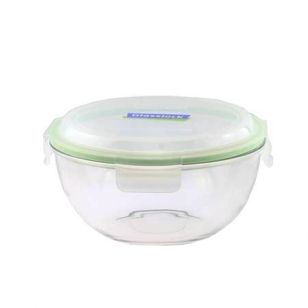 Glasslock Handy Type Promo Merdeka replacement lid 2000ml transparent green mbcb 200