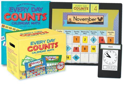 Calendar Math Everyday Counts Calendar Math And More For Grades Pre K 6