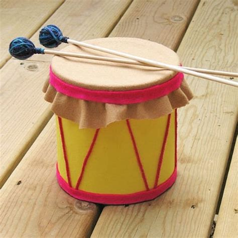 como hacer un tambor how to use recyclable containers to make music drum