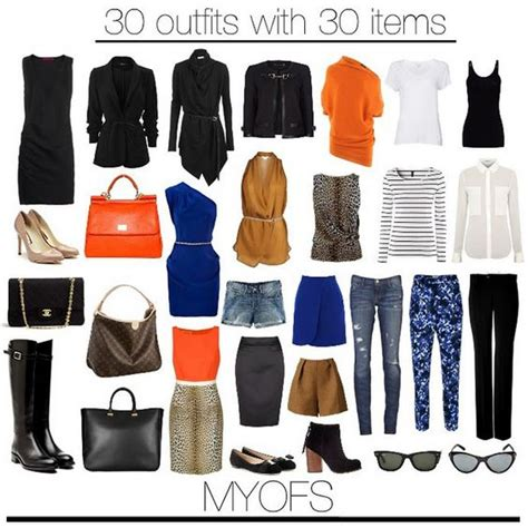 30 Item Wardrobe by Myofs 30 With 30 Items Capsule Wardrobe