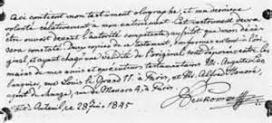 Exemple De Lettre Testament Le Testament Mystique Un Bon Compromis