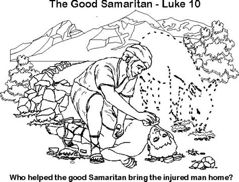 83 Best Images About Good Samaritan On Pinterest Bible Samaritan Coloring Page