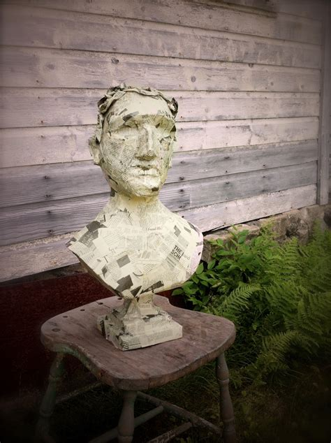 How To Make A Paper Mache Bust - how to make a paper mache bust 28 images best 25 paper