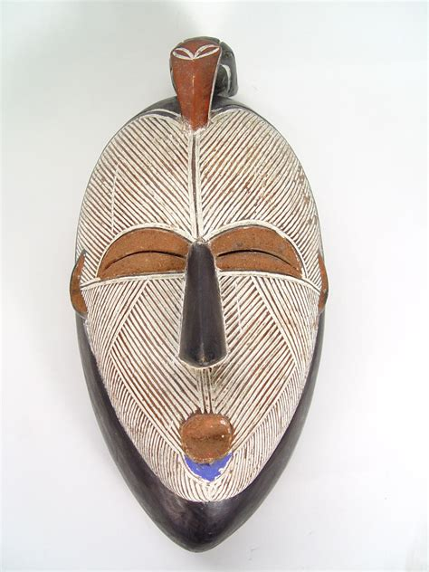 African Home Decor Catalog West African Luba Songye Mask